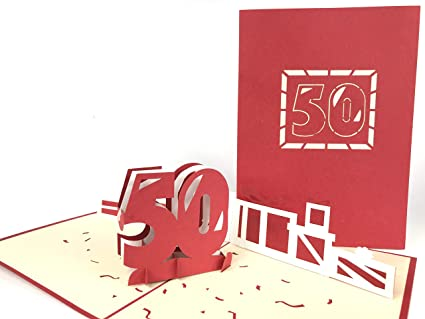 Tarjeta de felicitación de 50 cumpleaños para bebé ...