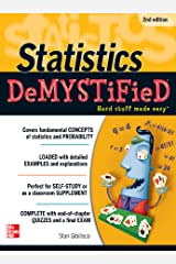 Statistics DeMYSTiFieD, 2nd Edition Kindle Edition