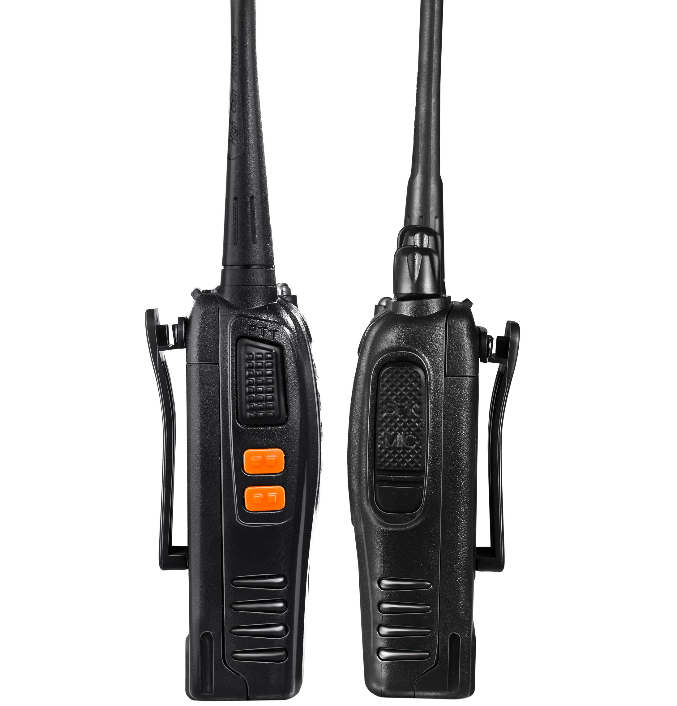 Arcshell Rechargeable Long Range Two-way Radios with Earpiece 2 Pack UHF 400-470Mhz Walkie Talkies Li-ion Battery and Charger included by Arcshell (Image #6)