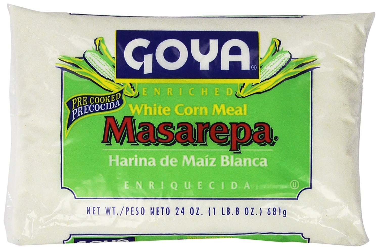 Goya White Corn Meal Masarepa 24 Oz (PACK OF 01)