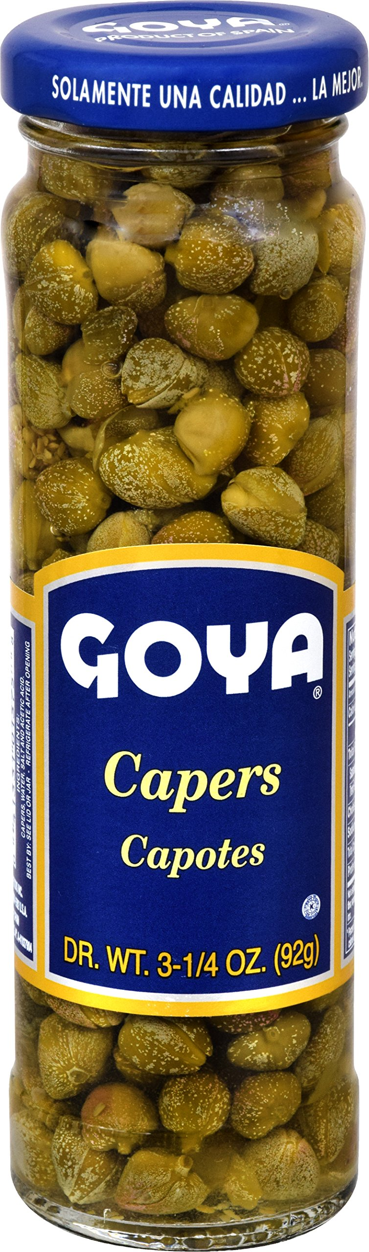 Goya Foods Spanish Capers (Alcaparra), 3.25-Ounce (Pack of 24)