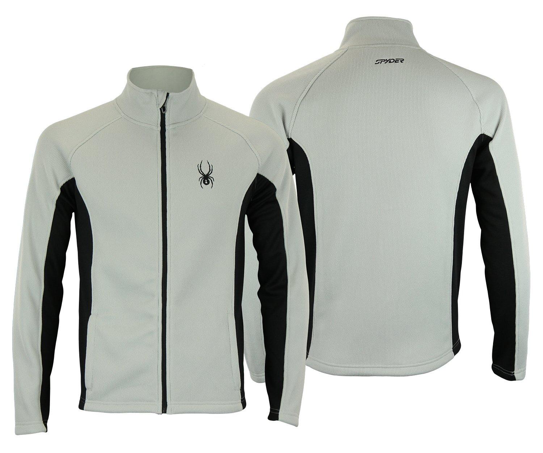 Spyder Men Constant Full Zip Sweater Cirrus Size XL by Spyder
