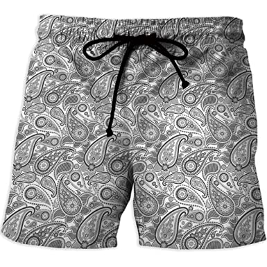 7e76552298 Image Unavailable. Image not available for. Color: Printed Quick-Drying  Swimming,Pink,Men's Board Short Swimwear,Nautical ...