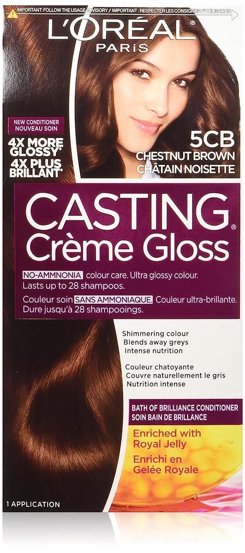 L'Oreal Paris Casting Crème Gloss By Healthy Look Haircolour, 412 Iced Cocoa L' Oreal Paris