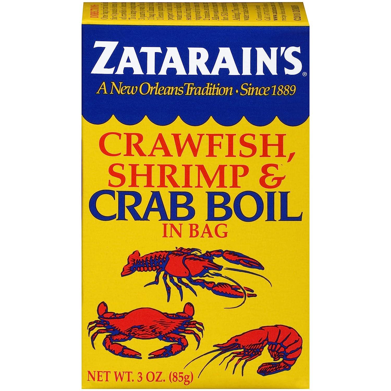 Zatarain's Crawfish, Shrimp & Crab Boil, 3 oz, pack of 6
