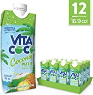 Vita Coco Coconut Water, Pineapple - Naturally Hydrating Electrolyte Drink - Smart Alternative to Coffee, Soda, and Sports Dr