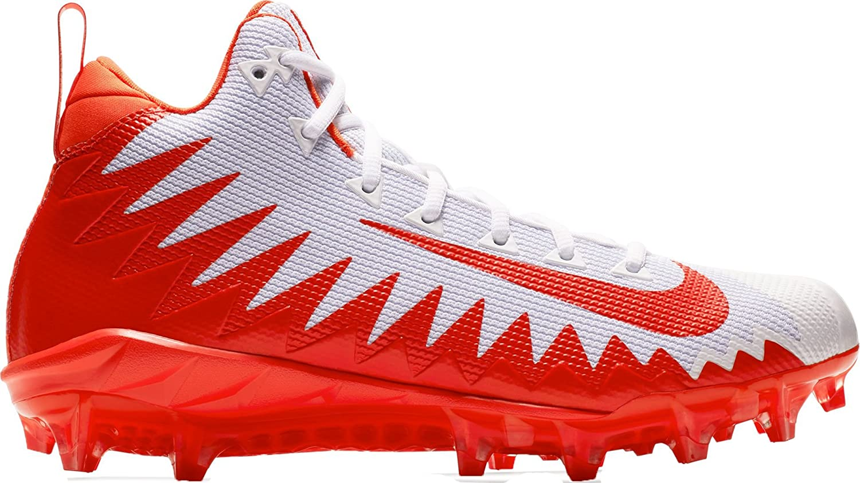vit  orange Nike Nike Nike herrar Alpha Menace Pro Mid Football Cleat  online shopping sport