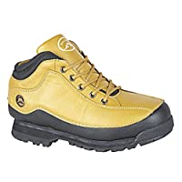 Boys Kids Rugged Honey Lace Up Hiking Walking Outdoor Trainer Ankle Boot Shoe Size 2-6