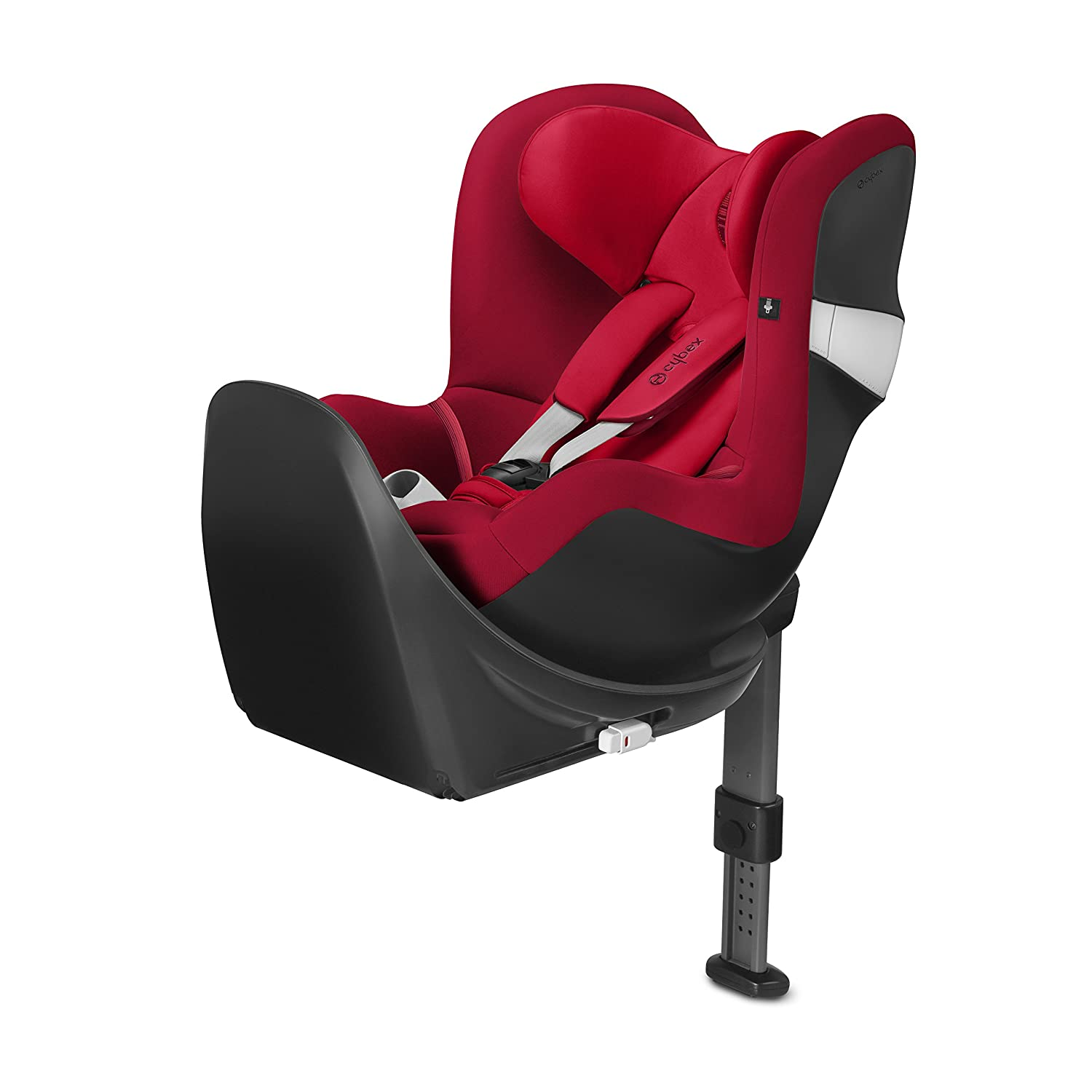 Cybex Gold 518000353 Sirona M2 I Size avec base M, siège auto Groupe 0 + et 1 (0–18 kg), Collection 2018, Rebel Red