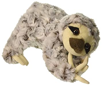 Amazon Com Sloth Animal Den Plush 8 H Toys Games