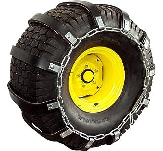 The ROP Shop New Pair 2 Link TIRE Chains 23x8.5x12 fits Many Polaris Sportsman Scrambler ATV