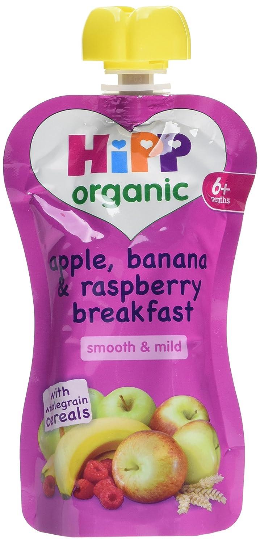 HiPP Organic Apple/Banana and Raspberry Breakfast 100 g (Pack of 5) GB8534.23-F