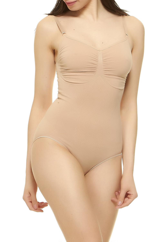 fce7236c50a65 Unique Styles Bodysuit Shapewear Women Body Shaper Waist Cincher Briefer ...