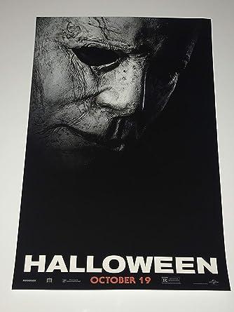 HALLOWEEN (2018) Mini One Sheet Movie Poster Jamie Lee Curtis Nick