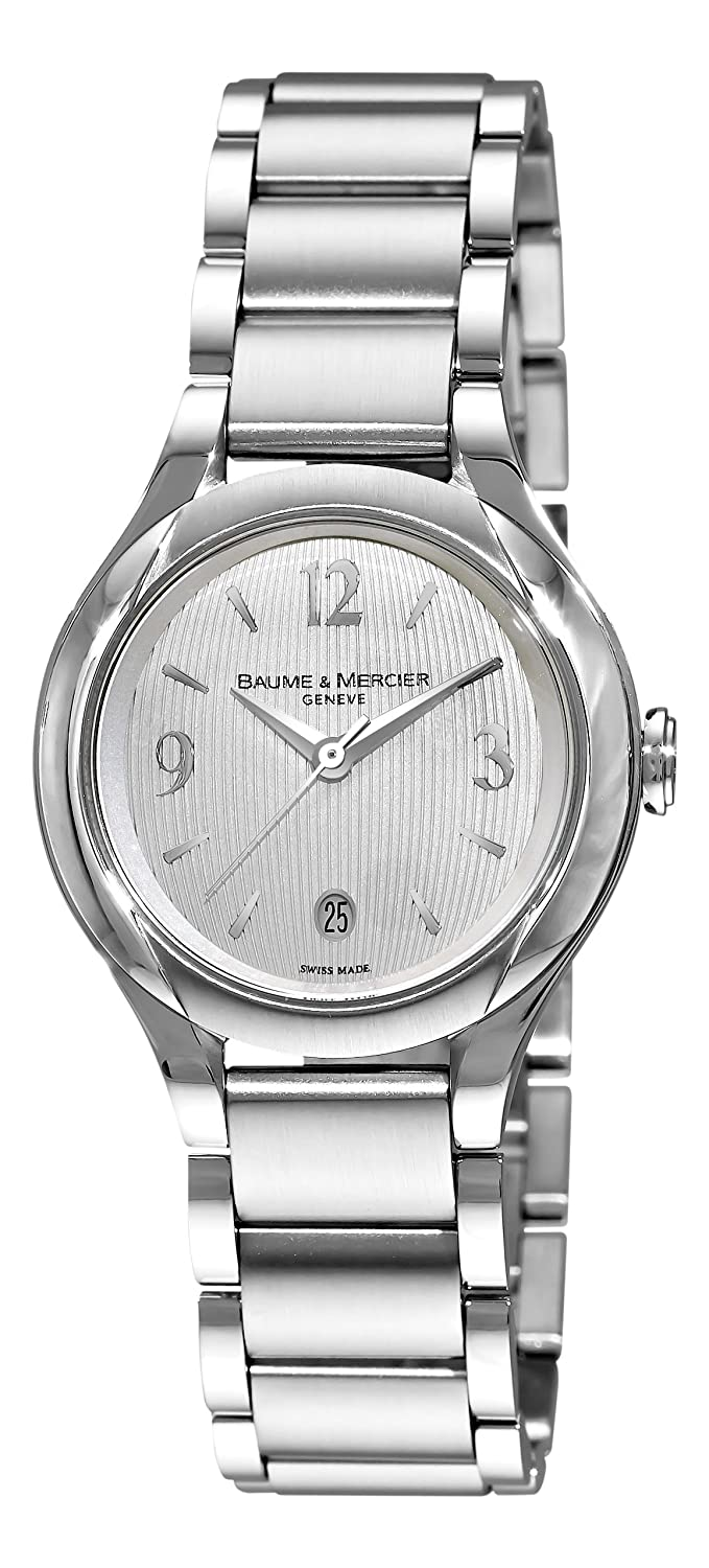 Stainless Steel Ilea Patterned Silver Tone Dial