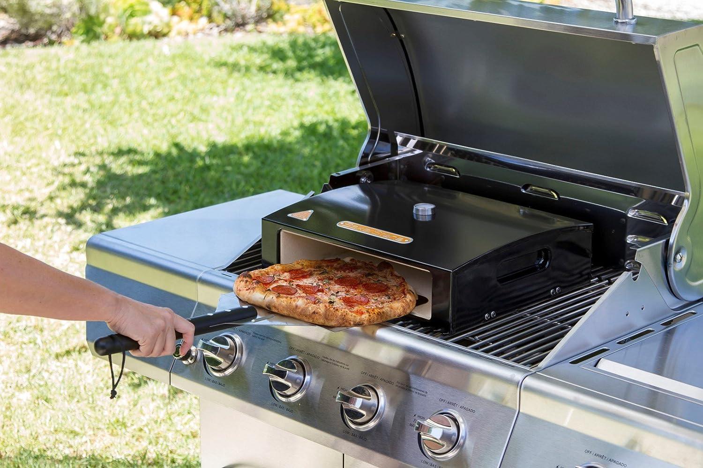 Pizzaofen Für Gasgrill : Bbgrill pizzaofen bakerstone basics box schwarz amazon garten
