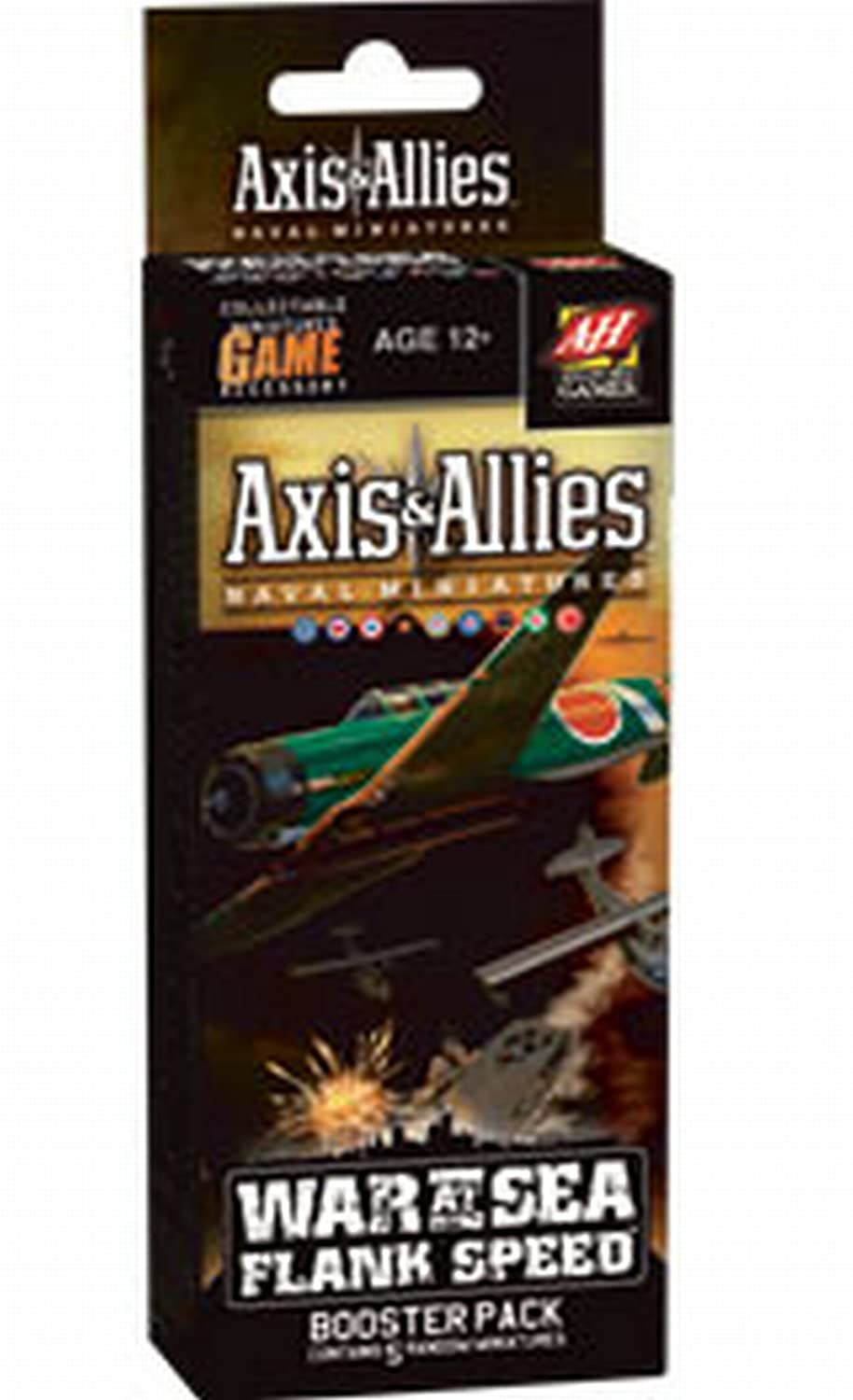 Wizards of the Coast Axis and Allies Naval Miniatures War at Sea Flank Speed Booster Pack Board Game Expansion