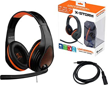 Subsonic - X-1000 Auriculares Gaming estereo con micro X-Storm ...