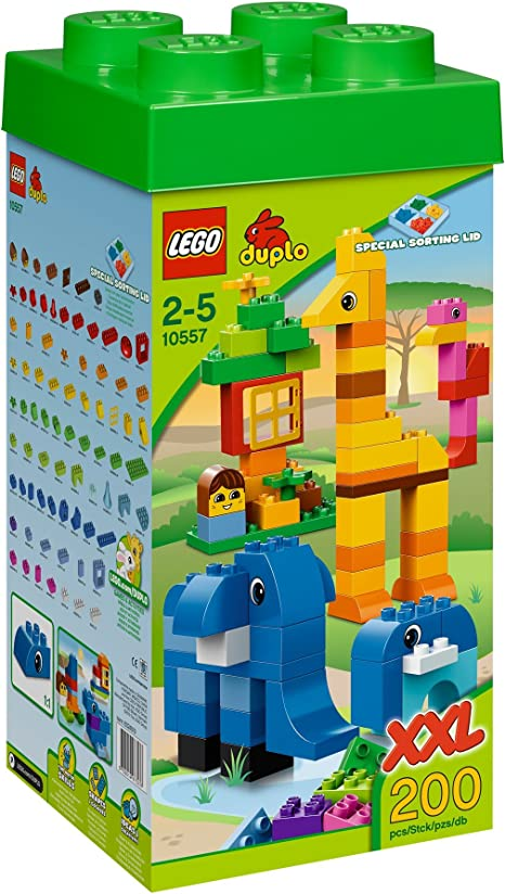 LEGO Duplo Torre Gigante - Juegos de construcción (Multi): Amazon ...