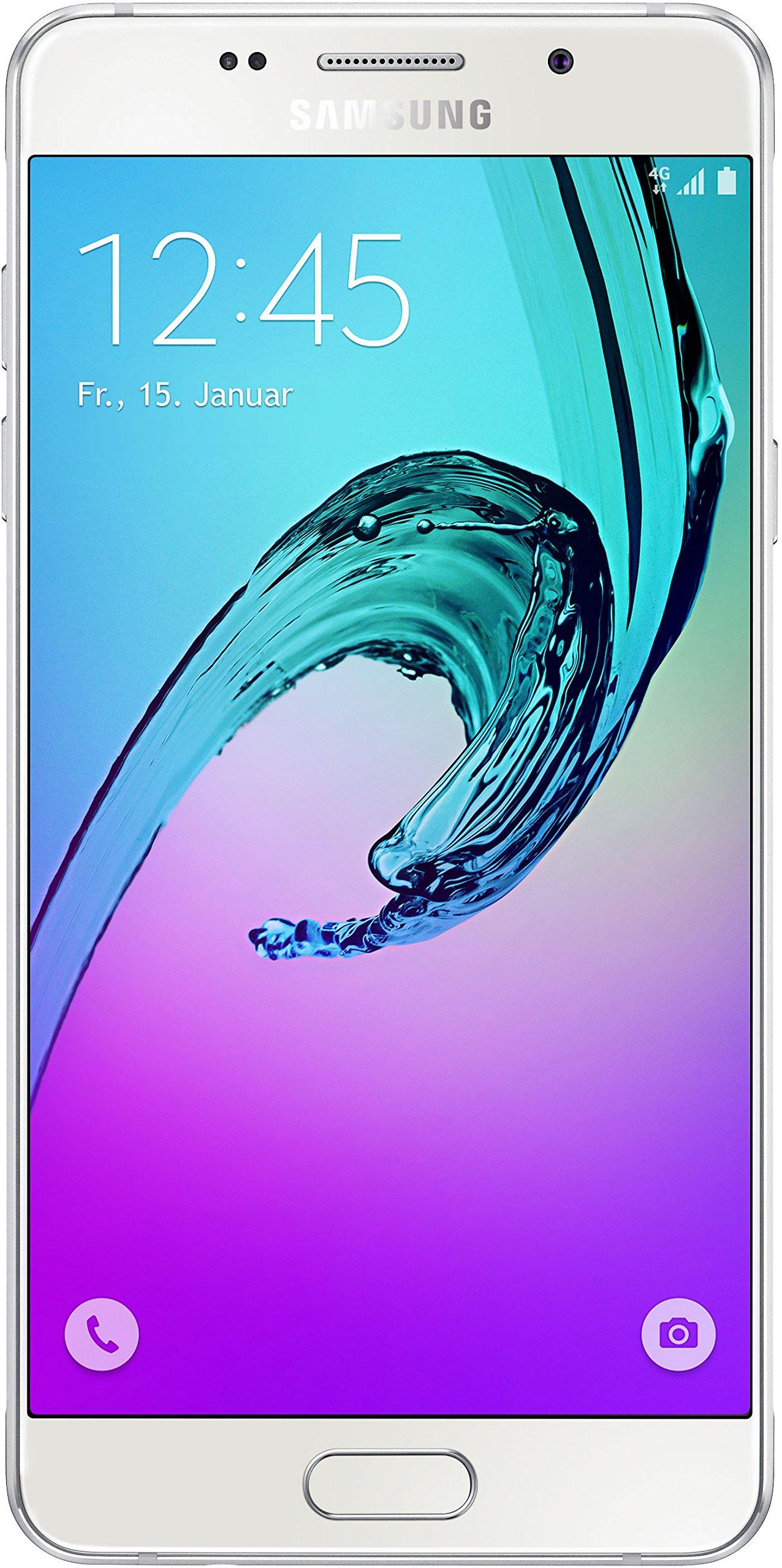 Samsung Galaxy A5 (2016) SM-A510F 16GB White, Single-Sim, GSM Unlocked International Model, No Warranty