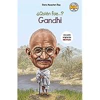 ¿Quién fue Gandhi? (No ficción ilustrados)
