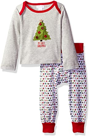mud pie baby two piece playwear set boy first christmas 0 6 months