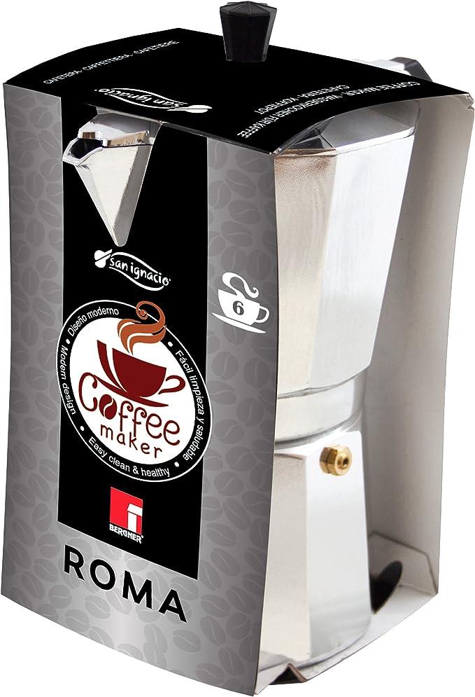 BERGNER San ignasio Cafetera roma 6 tazas: Amazon.es: Hogar