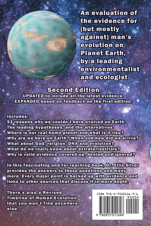 Книга Люди не з Землі автор Доктор Елліс Сільвер
