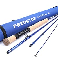 Maxcatch Predator Saltwater Fly Fishing Rod: 9ft, 4-Piece, 8/9/10/12 Weight