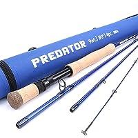 Maxcatch Predator Saltwater Fly Fishing Rod: 9ft, 4-Piece, 8/9/10/12 Weight
