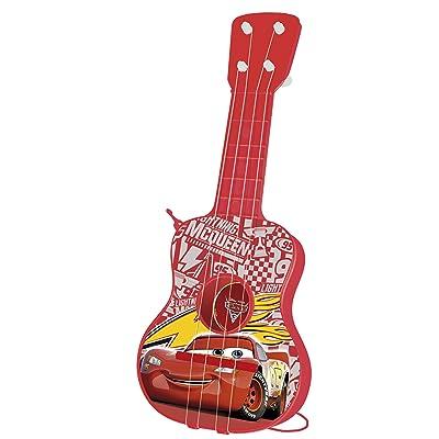 Cars - Guitarra en Estuche, 4 Cuerdas (Claudio Reig 5305.0): Juguetes y juegos