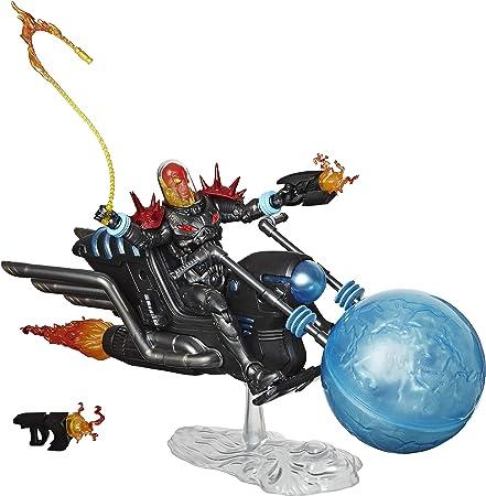 Figura de motorista fantasma cósmico coleccionable de 15 cm; Fans, coleccionistas y niños por igual