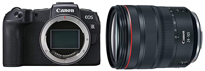 Canon EOS R Mirrorless Digital Camera  Body  with Canon RF 24 105 mm F/4l is USM Lens DSLR Camera Lenses