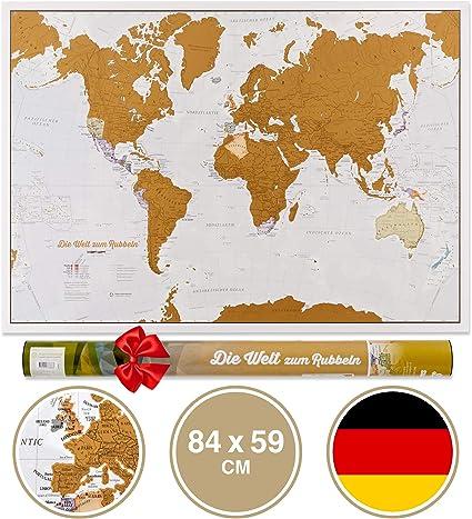 Scratch el Mundo – versión alemana: Amazon.es: Oficina y papelería