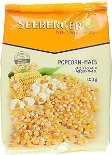 Seeberger Popcorn Mais, 10er Pack (10x 500 G Packung)