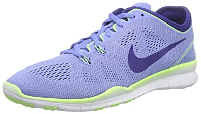 7121044465f9 Image Unavailable. Image not available for. Color  NIKE Free 5.0 TR Fit Ladies  Running Shoes - Chalk Blue