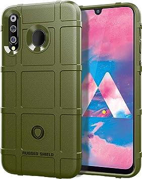 MEVIS Protector Funda Samsung Galaxy M30 de SHVEL Rugged ...