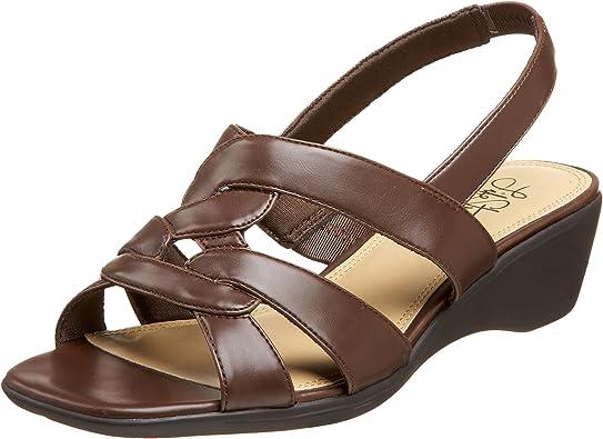 Murano Sandal, Brown, 6.5 WW US