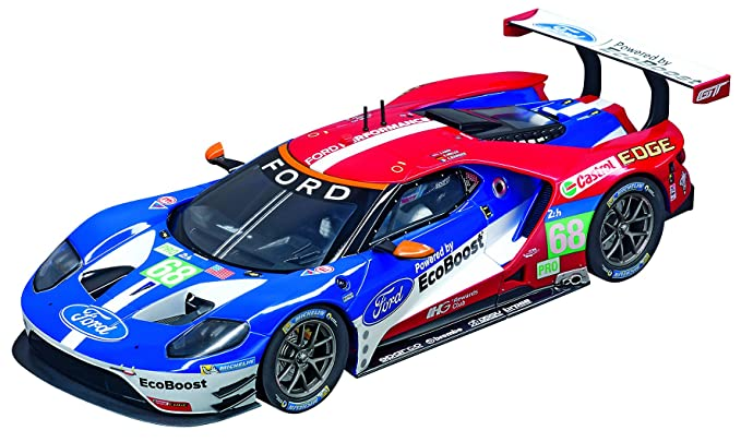 Amazon.com: Carrera Digital 124 Slot Car Racing Vehicle - 23832 Ford GT Race Car No.68 (1:24 Scale): Toys & Games