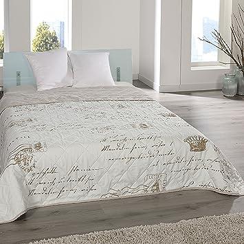 Jemidi Bett Und Sofaüberwurf Xl Doppelbett Gesteppt 220 X 240