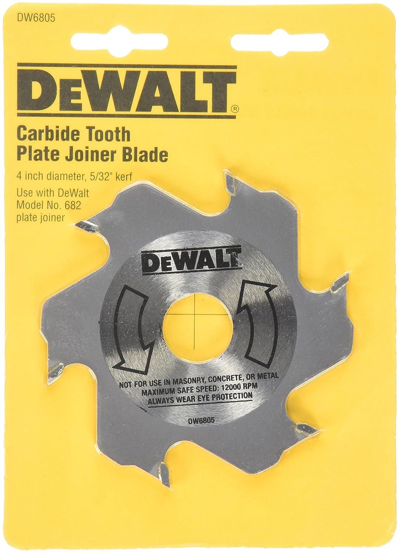 DEWALT DW6805 4-Inch 6 Tooth Carbide Plate Joiner Blade