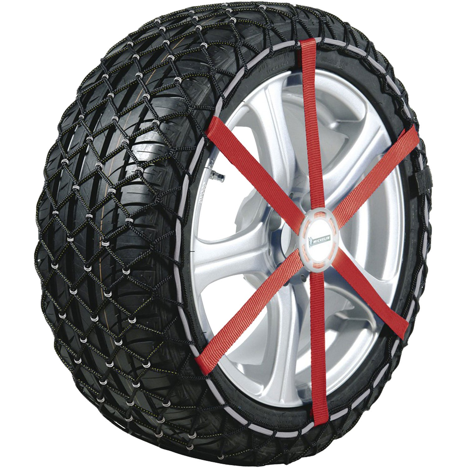 Michelin 92303 Textilschneeketten Easy Grip L13, ABS und ESP kompatibel, TÜ V/GS und Ö NORM, 2 Stü ck Michelin - License
