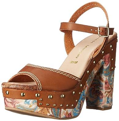 Chinese Laundry Women's Callista Platform Sandal, Rich Brown, ...