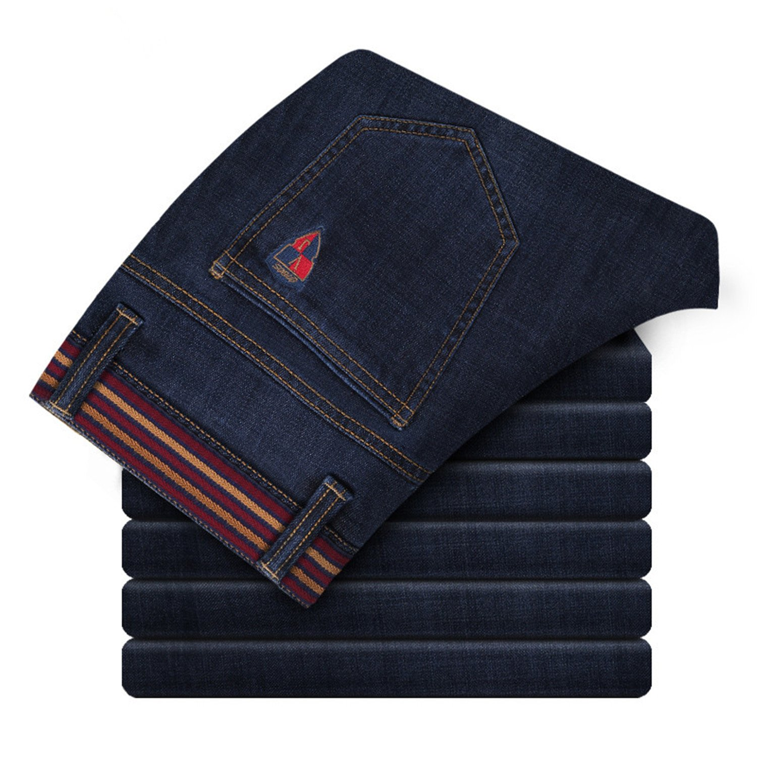 28-44 Thadensama New Mens Plus Size Jeans Big Size Jeans Casual Pants Denim Slim Fit Trousers For Man Size