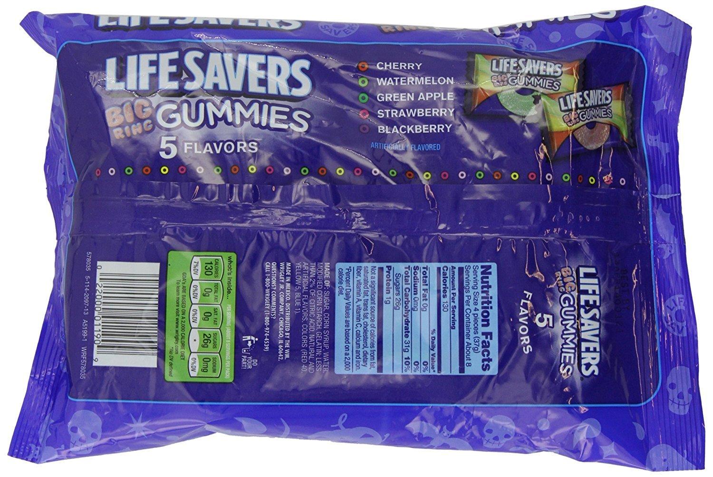Life Savers Big Ring Gummies Nutrition Facts Besto Blog