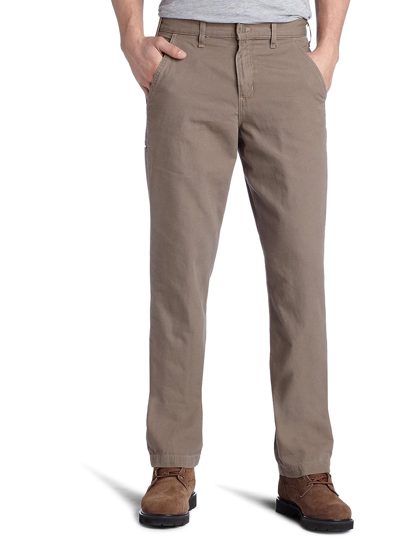 Carhartt メンズ キャンバスカーキ リラックスフィット ストレートレッグパンツ マッシュルーム waist42 30 waist42 30マッシュルーム B0035GE69C