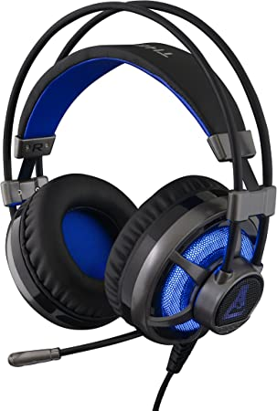 THE G LAB KORP SELENIUM Casque Gaming Haute Performance Technologie X Tra bass Confortable Comptatible PS4, PC & Xbox One Noir