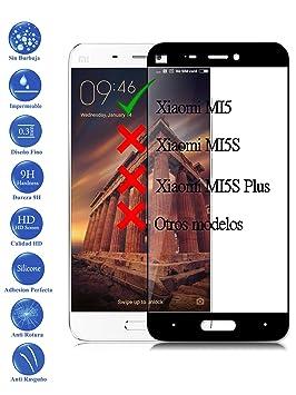 Todotumovil Protector de Pantalla Xiaomi MI5 Negro Completo 3D ...