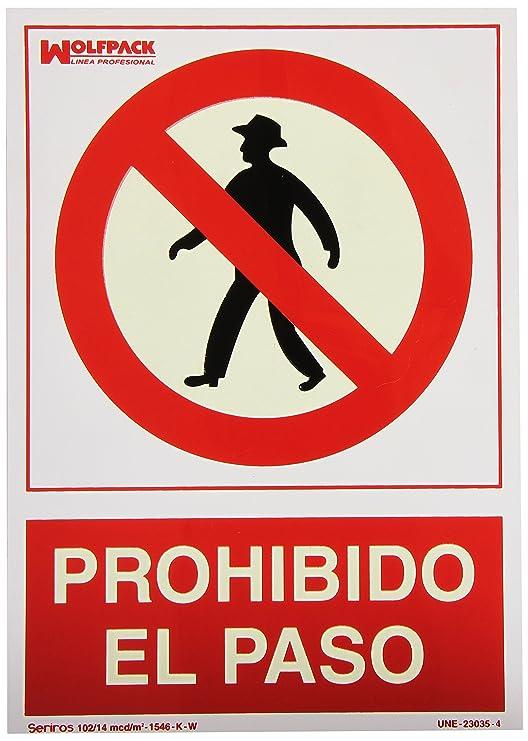 Wolfpack 15050500 Cartel Prohibido El Paso 30x21