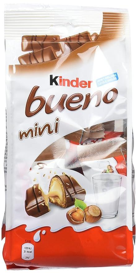 Kinder Bueno Mini Barritas con Relleno de Leche y Avellanas, Recubiertas de Chocolate - 20